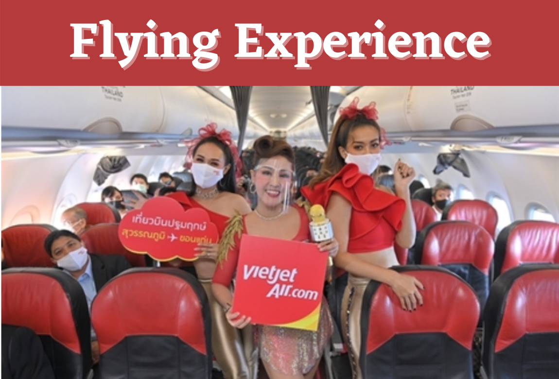 Flying Experience Using Thai Vietjet Air